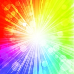 Das Regenbogenexperiment: Die Sonne sendet unsichtbare Strahlung aus, zum Beispiel die UVB-Strahlung. Und die ist verantwortlich für den Sonnenbrand. Für das Experiment brauchen wir einen Taschenspiegel, einen mit Wasser gefüllten tiefen Teller und eine weiße Wand. Und so geht's: Den Teller auf einen Tisch legen, auf den Sonnenstrahlen scheinen. Dann den Taschenspiegel in das Wasser halten, sodass die Sonnenstrahlen auf ihn fallen und an die weiße Wand geworfen werden. Wenn der Spiegel richtig ausgerichtet wird, dann schillern auf der Wand die Farben des Sonnenlichtes – das sogenannte Spektrum!