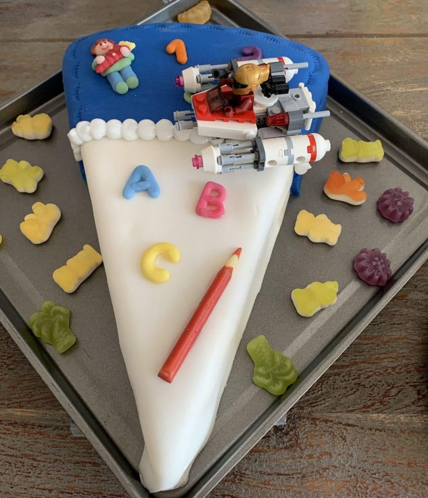 Enkelkind Einschulung Torte