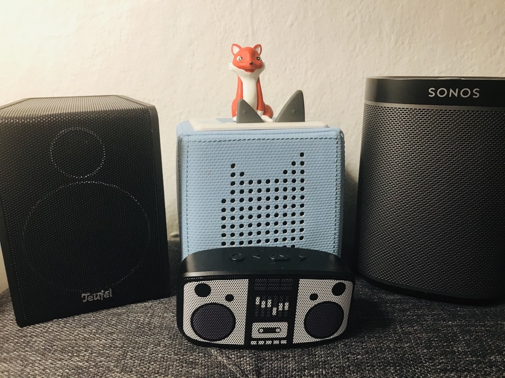 Lautsprecher-Fuchsbande